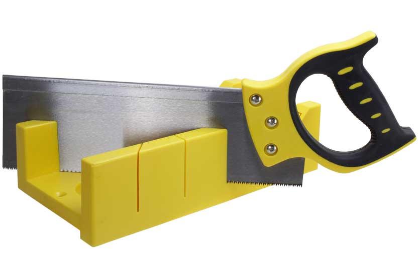 Pila čepovka,délka 350 mm, s přípravkem pro řezání úhlů, Strend Pro