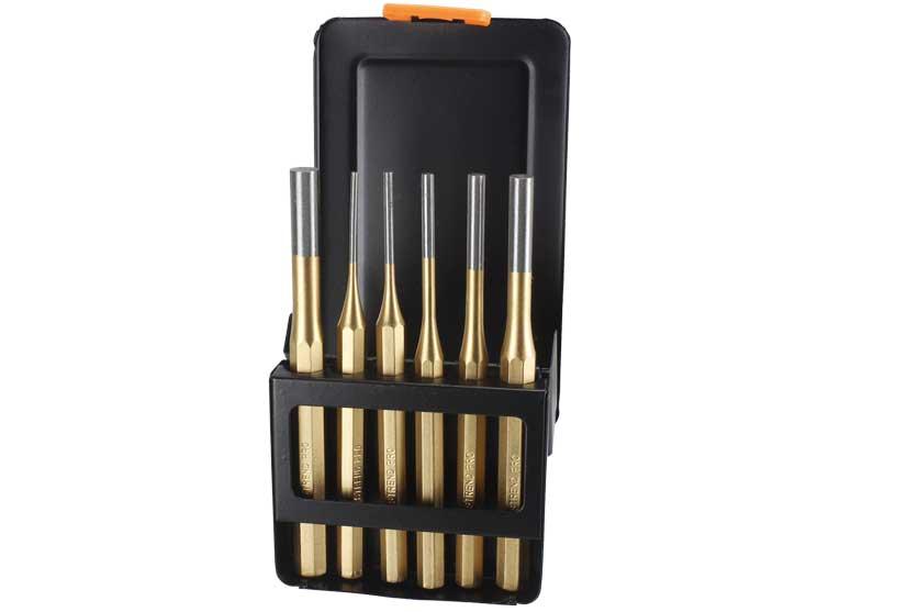 Vyrážeče sada 6 kusů 2,5-10mm Strend Pro 234102 (00802)