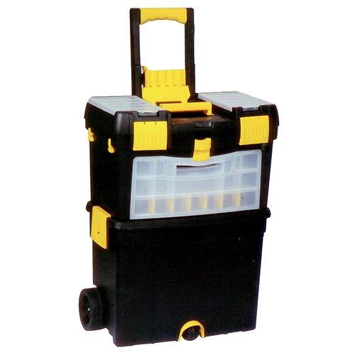 Kufr plastový na nářadí pojízdný Strend Pro 45x25x60cm nosnost 25kg TR239094