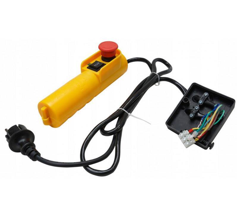 VERKE Ovladač na elektrický lanový zvedák, naviják 600/300kg V06081