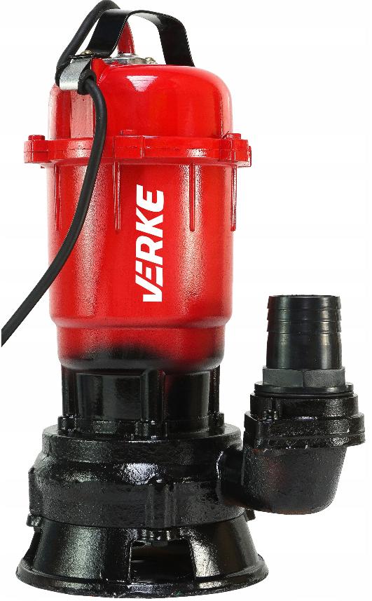 VERKE Kalové čerpadlo do studny a septiku 750W bez plováku V60030