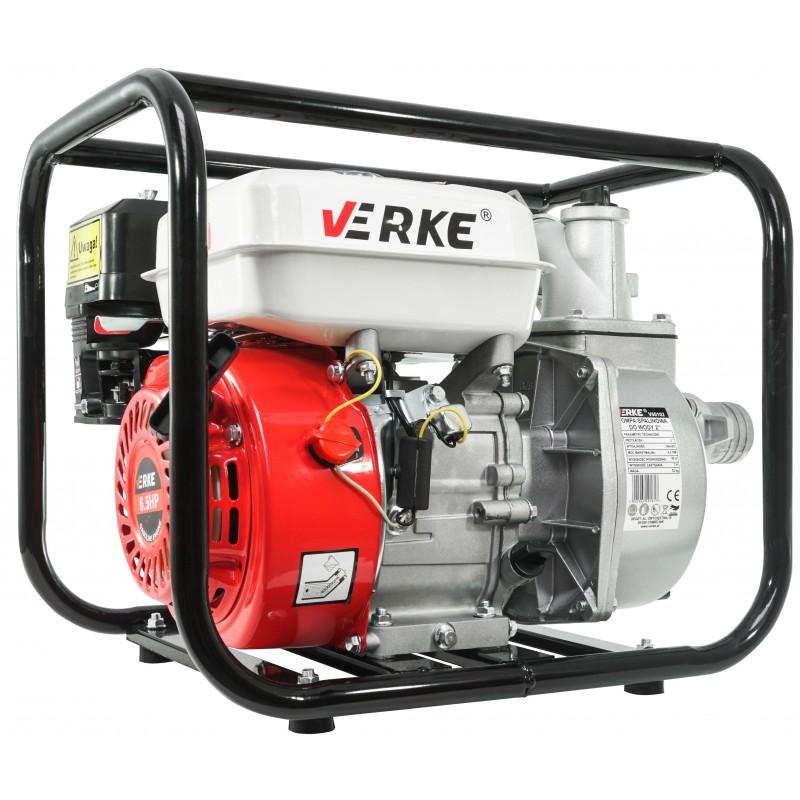 """VERKE Benzínové vodní čerpadlo 2"""" 6,5HP 600l/min V60102 Nářadí 22Kg V60102"""