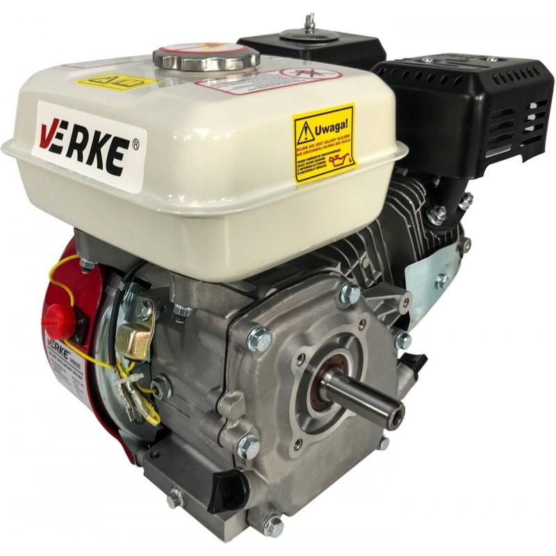 VERKE Motor 6,5HP k čerpadlu nebo centrále, hřídel 20mm V60253 Nářadí 16Kg V60253