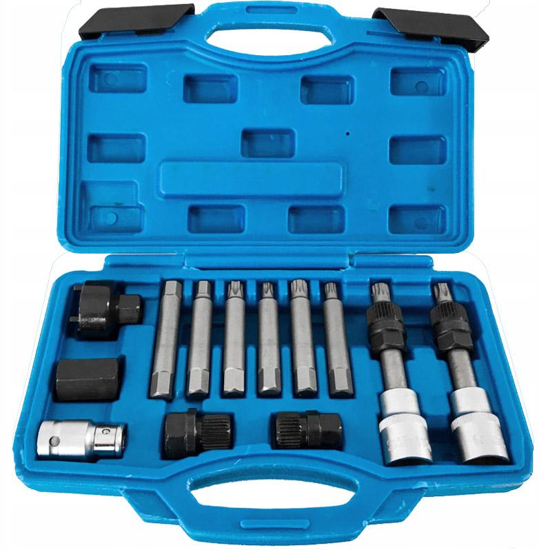 DEGET Klíče na alternátory sada 13 dílů V86220 Nářadí 1.3Kg V86220