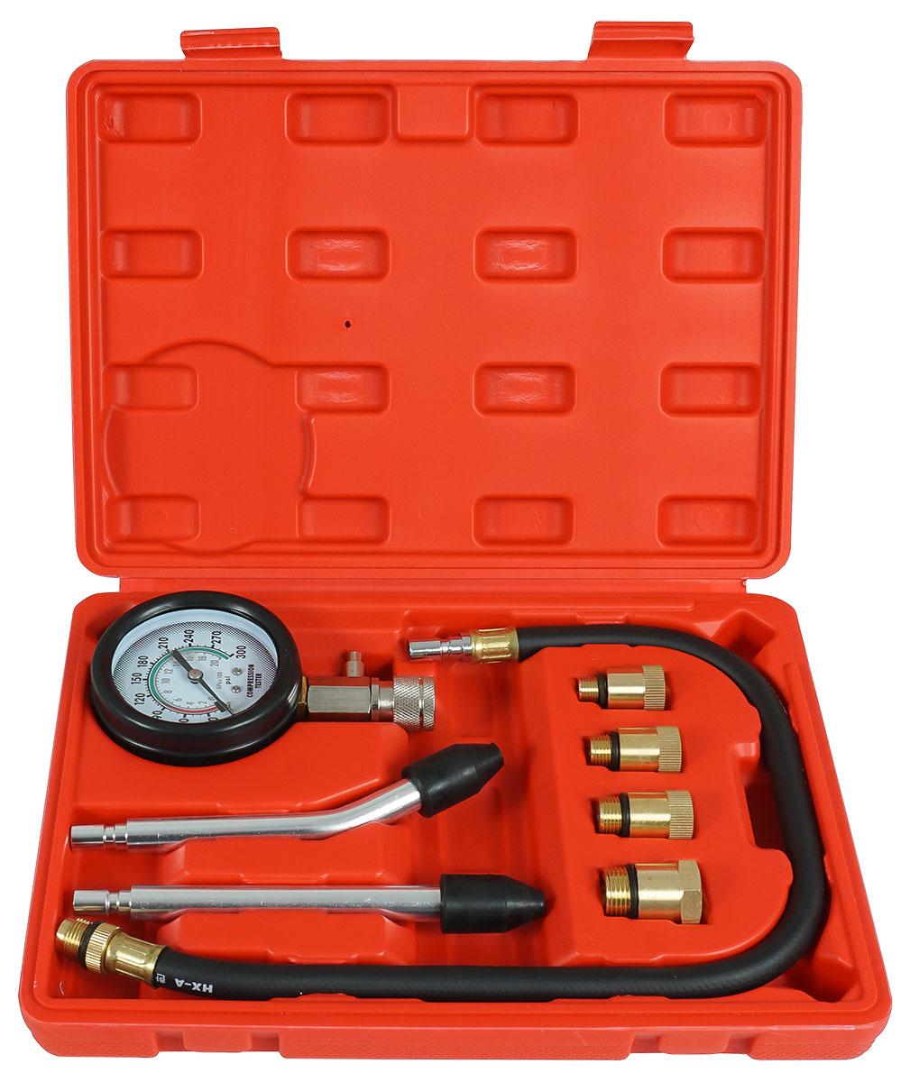 VERKE Kompresiometr, sada pro měření komprese benzinových motorů V86253 Nářadí 0.997Kg V86253