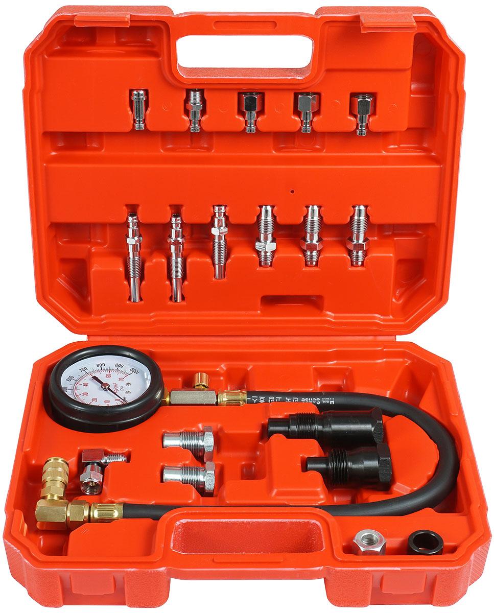 DEGET Kompresiometr, sada pro měření komprese dieselových motorů V86257 Nářadí 2.1Kg V86257