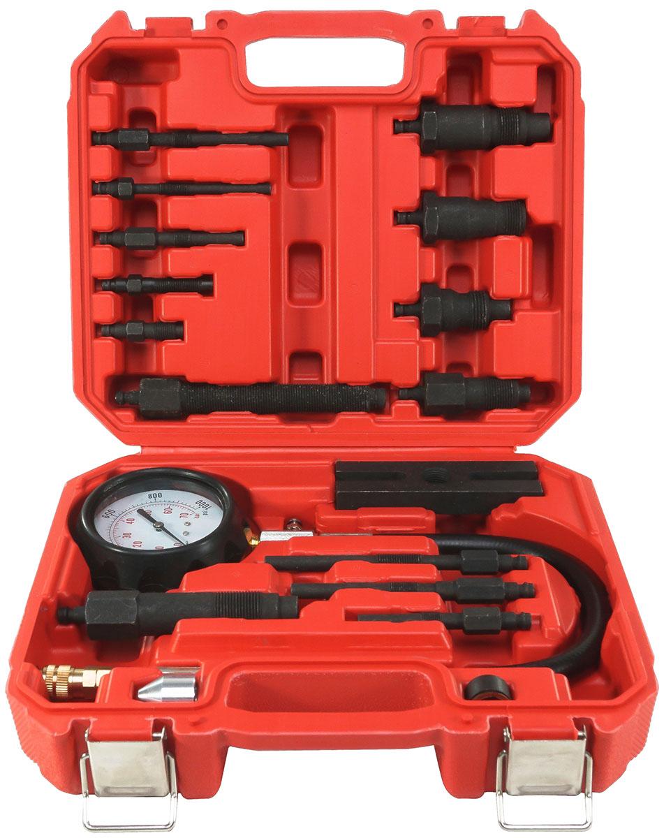 VERKE Kompresiometr, sada pro měření komprese dieselových motorů 16ks V86258 Nářadí 3.5Kg V86258