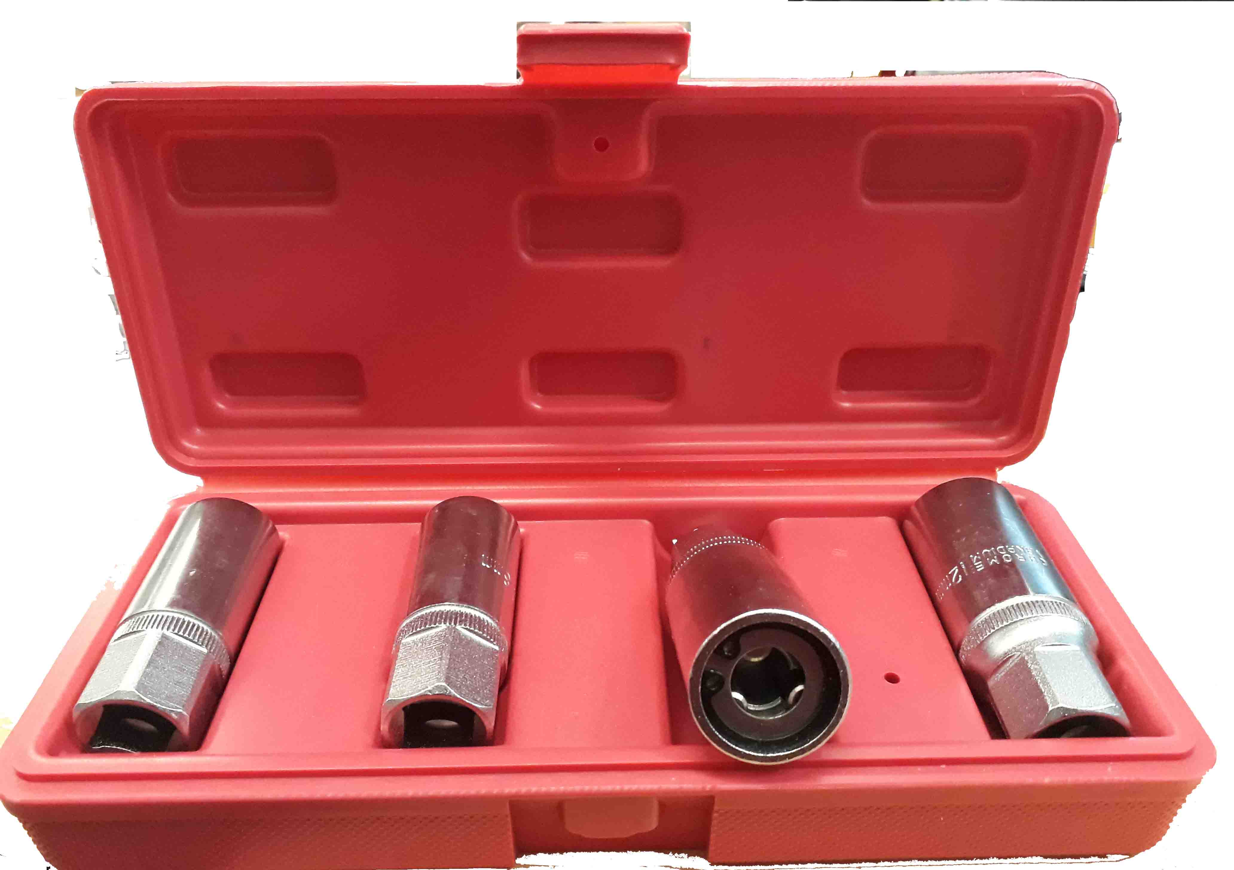 Vytahovač svorníků-šteftů sada 4 kusy 6-12 mm