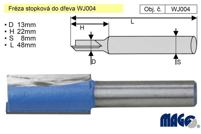 Fréza stopková do dřeva WJ004