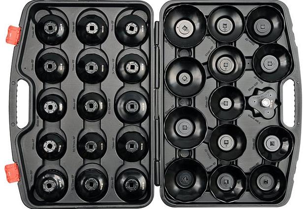 Klíče na olejové filtry sada 30 kusů Yato 0596