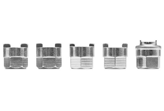 Sada 5  kusů hlavic k montáži tlumičů  Yato Nářadí-Sklad 2 | 0,218 Kg
