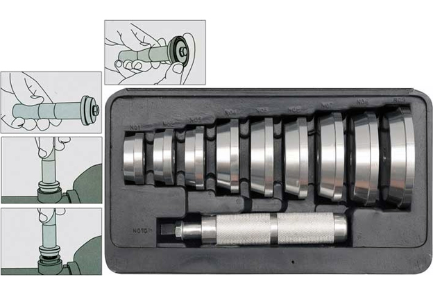 Sada pro montáž těsnících kroužků - simerinků