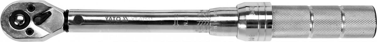 """Momentový klíč ohybový 2,5-20 Nm 1/4""""  Yato YT-07511"""