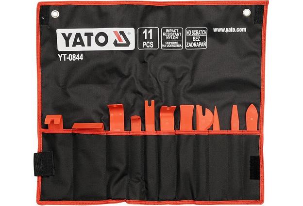 Sada  11 dílů k demontáži a montáži čalounění Yato