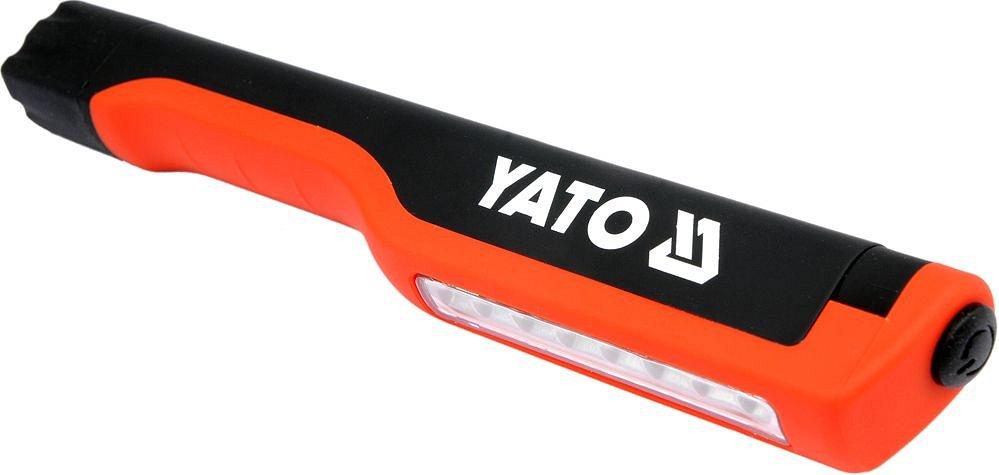 Lampa ruční 8 LED, s klipem, 80 lm Nářadí 0.069Kg YT-08514