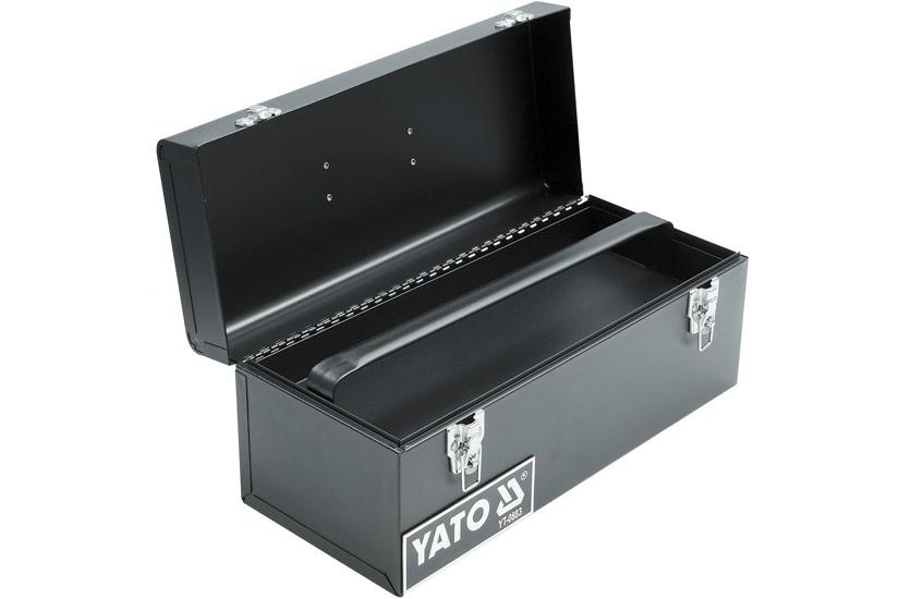 Kufr na nářadí, 1 komorový, velikost 428 x  180 x 180 mm, Yato