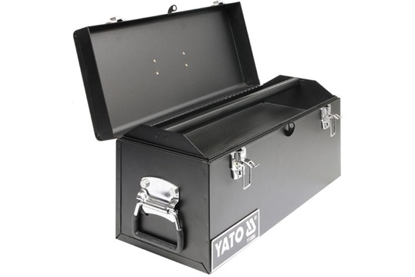 Kufr na nářadí kovový 52 x 22 x 24 cm 1-komorový Yato