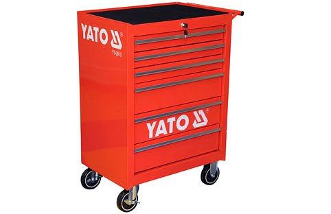 Skříňka pojízdná, dílenská, 6 zásuvek,Yato