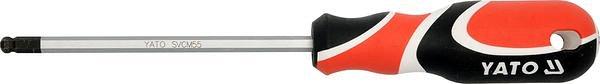 Šroubovák imbus 2 mm kulový magnetický Nářadí 0.032Kg YT-1530
