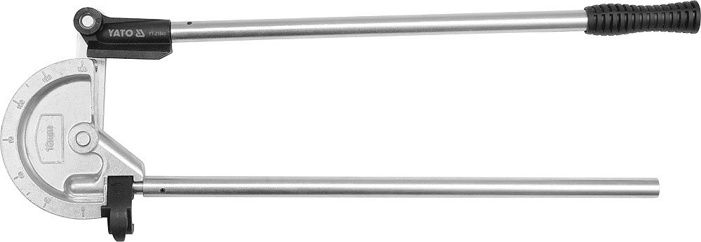 "Mini ohýbačka na trubky Al, Cu, průměr  23/32"" - 18mm Yato"