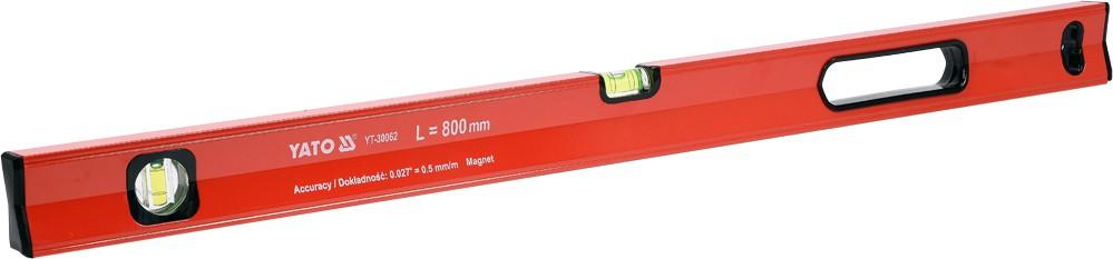 YATO Vodováha magnetická 800 mm, YT-30062