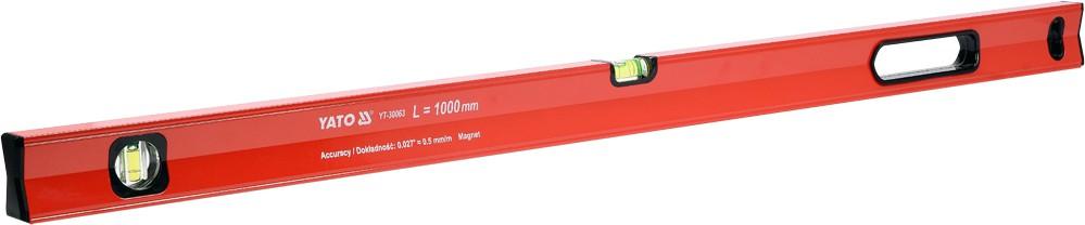 YATO Vodováha magnetická 1000 mm, YT-30063