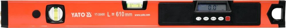 vodováha digitální 610 cm s laserem YATO YT-30400