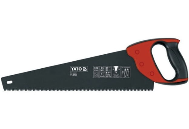 Pila ocaska, ruční, s teflonovým povlakem, délka 400 mm, Yato