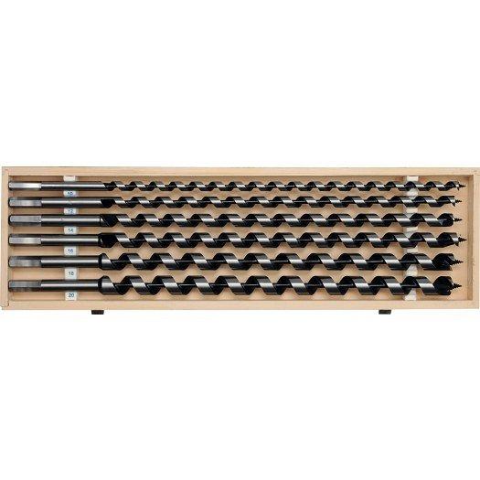 Sada hadovitých vrtáků do dřeva 10.12.14.16.18.20 délka 460mm Nářadí-Sklad 2 | 2,5 Kg