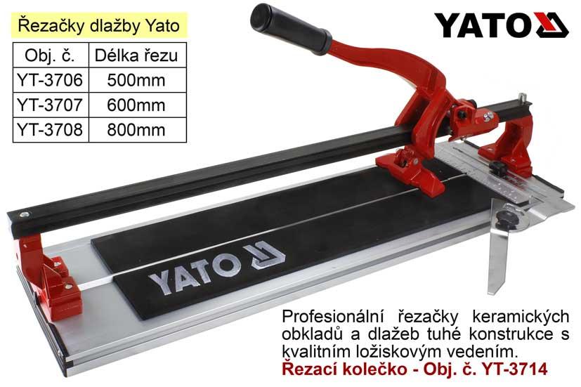Řezačka na dlažby 800mm - YT3708