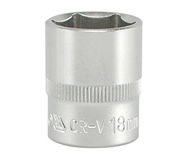 """Gola ořech šestihran  3/8""""  18mm Nářadí 0.067Kg YT-3813"""