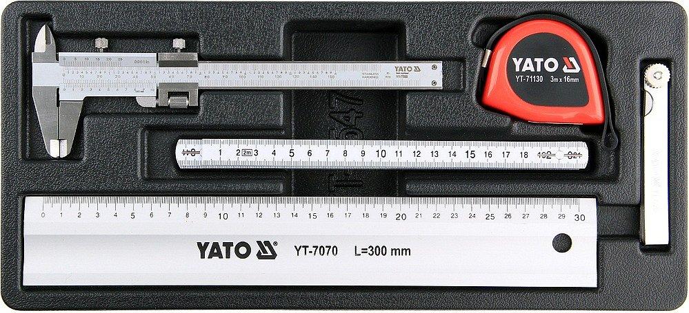 Vložka do zásuvky, YT-55474, sada měřidel, 5 kusů, Yato