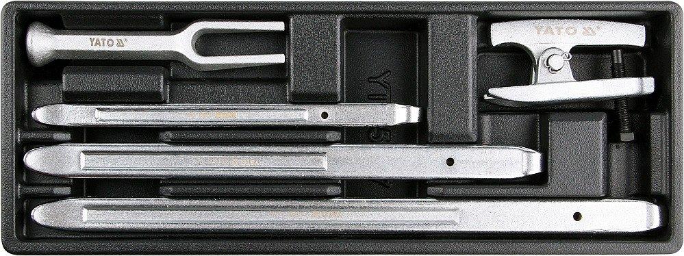 Vložka do zásuvky, YT-55477,  montážní páky, vyrážeč a stahovák kulových čepů,Yato