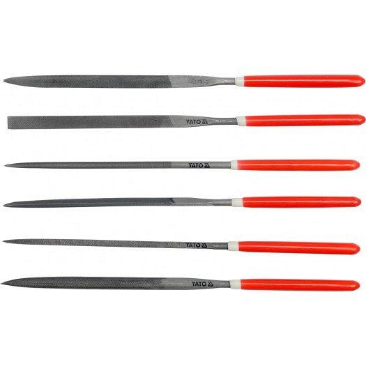 Sada pilníků jehlových 3 x 140 mm 6 ks