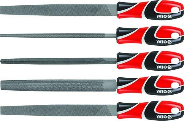 Sada pilníků zámečnických 250 mm 5 ks