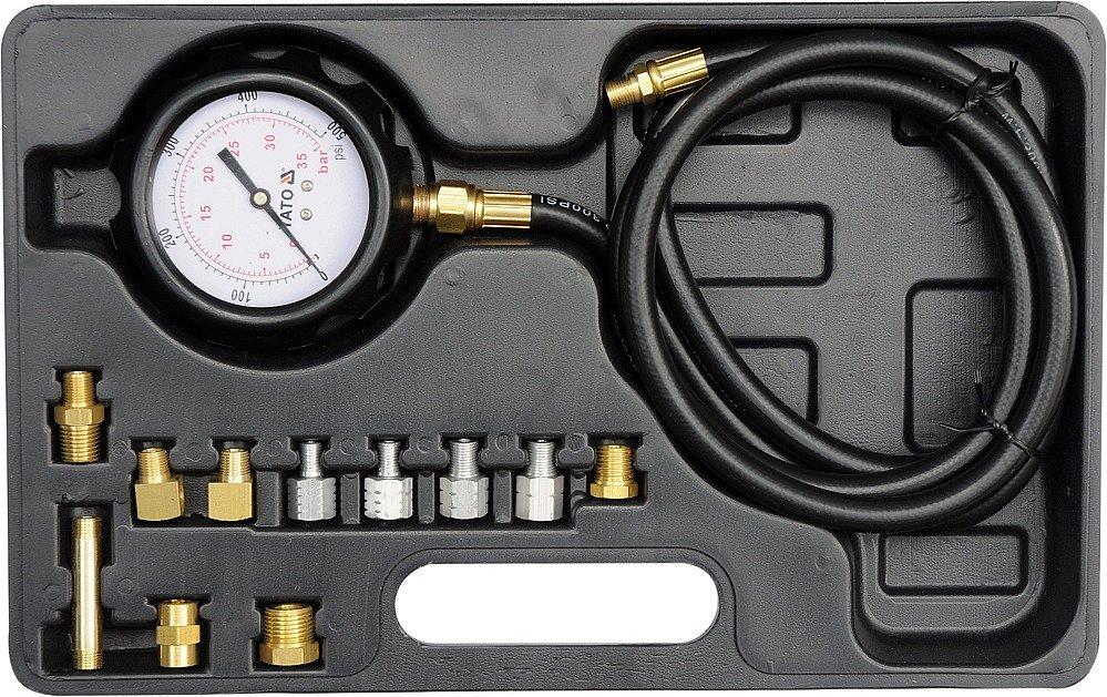Souprava k měření kompresního tlaku oleje, 12ks, 0-35bar