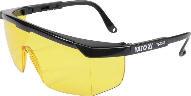 Ochranné brýle žluté typ 9844
