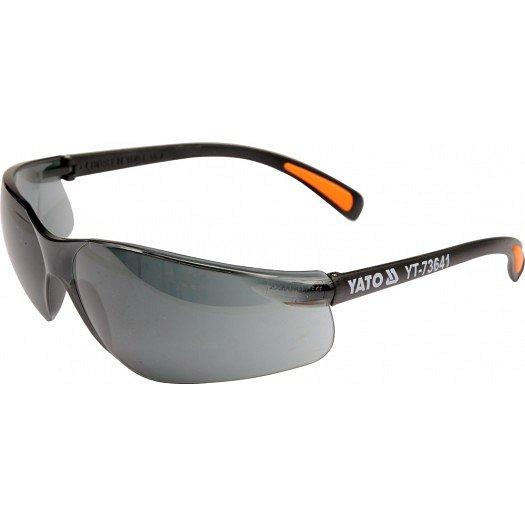 Ochranné brýle tmavé typ B517, EN 166:2001 F