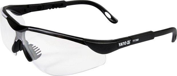 Ochranné brýle čiré typ 91659 Nářadí 0.058Kg YT-7365