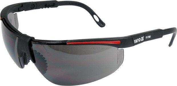 Ochranné brýle tmavé typ 91708 Nářadí 0.056Kg YT-7368