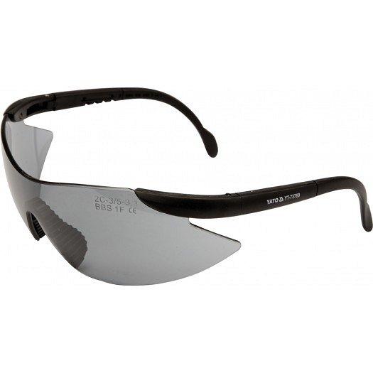 Ochranné brýle tmavé typ B532, EN 166:2001 F
