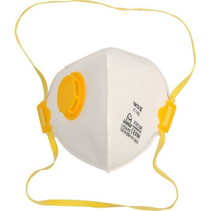 Protiprašná maska s ventilem