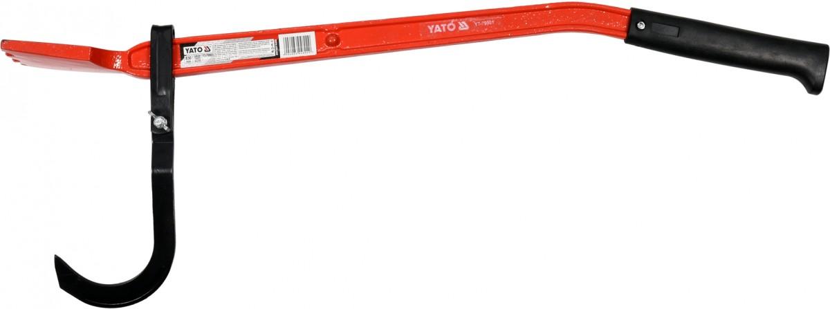 YATO Hák pro zvedání dřeva lesnický Nářadí 2.375Kg YT-79901