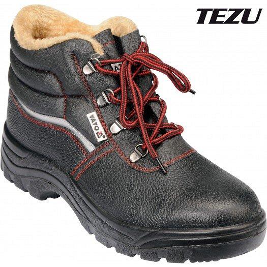 Boty pracovní kotníkové zimní TEZU vel. 43