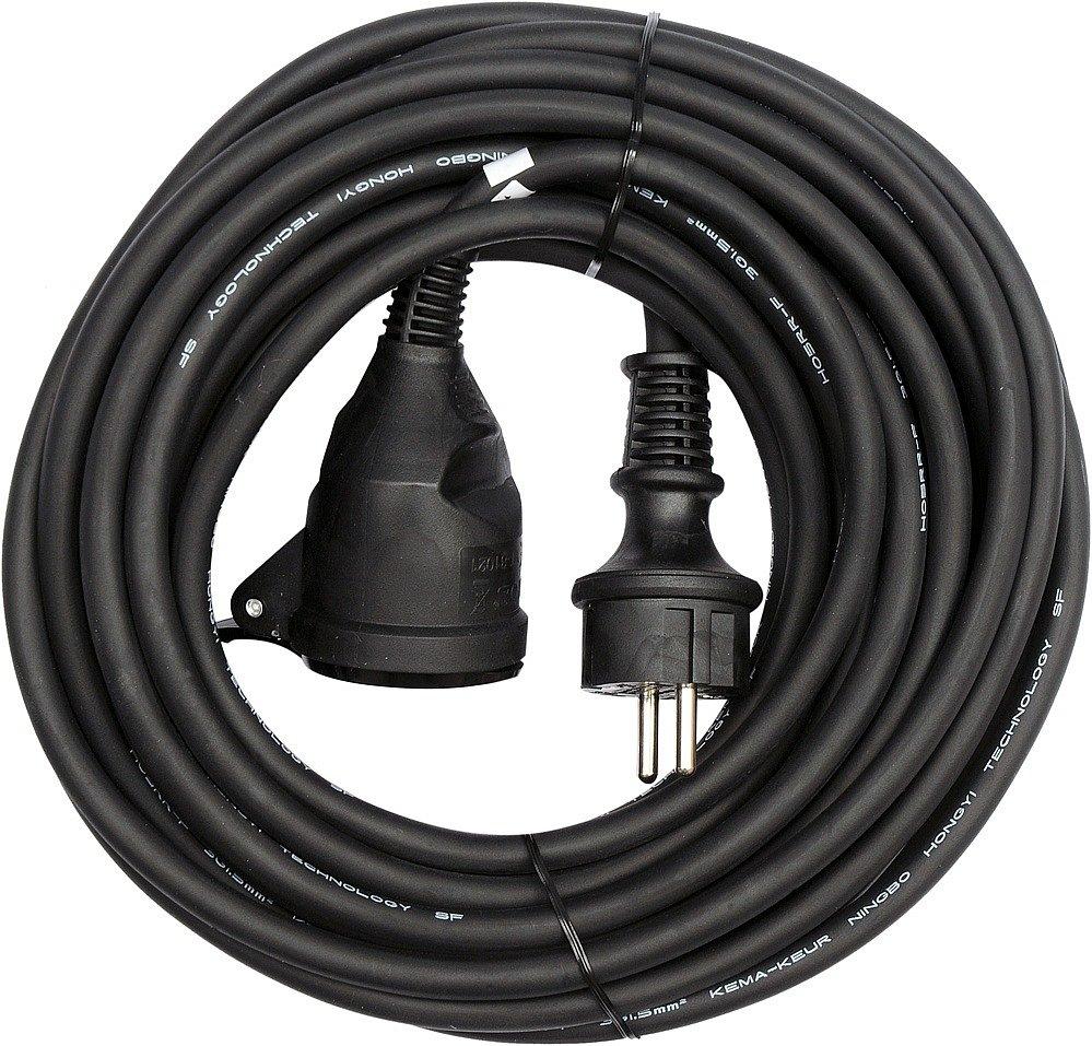 Prodlužovák elektrický-s gumovou izolací  16A,IP44  10 m