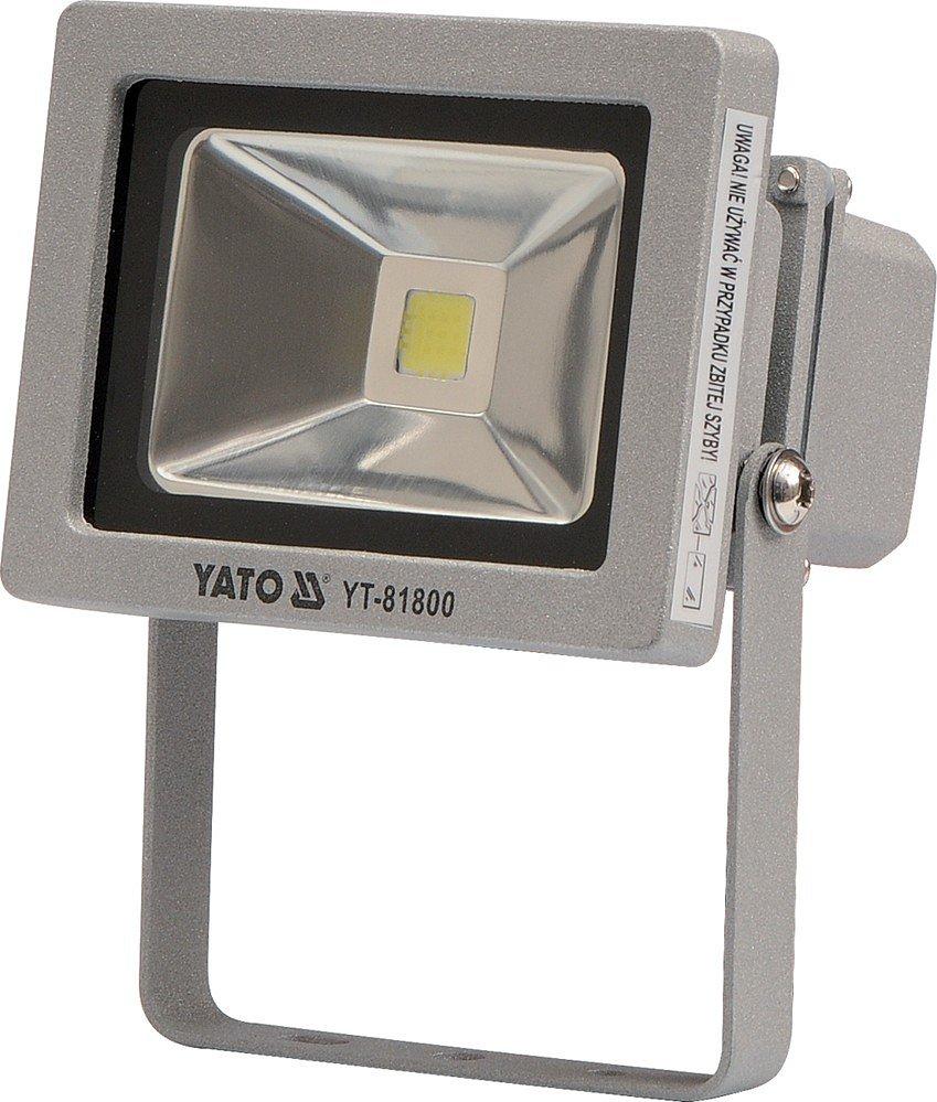 Reflektor LED 10 W s konzolí bílý Yato
