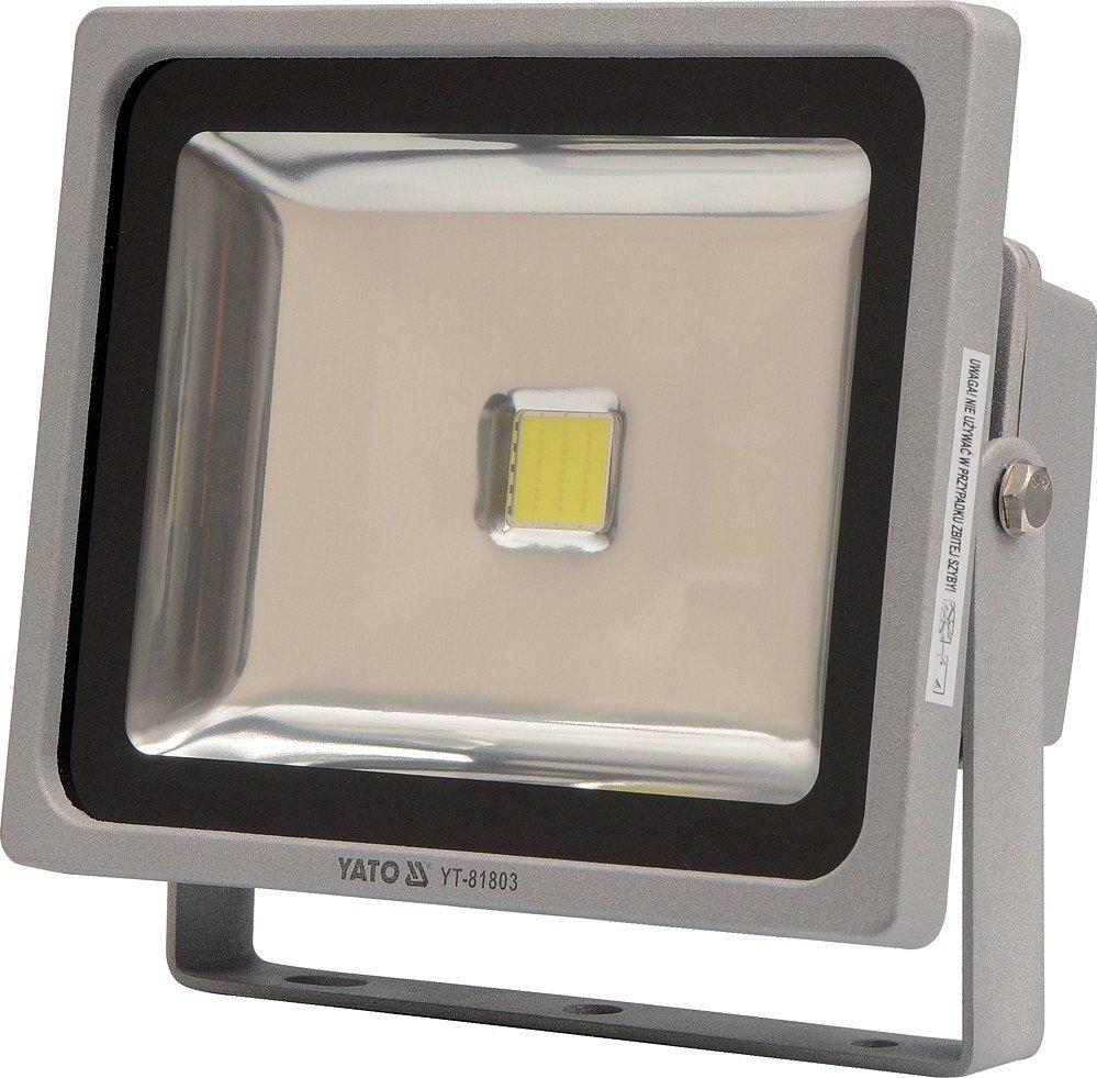 Reflektor LED 30 W s konzolí bílý Yato