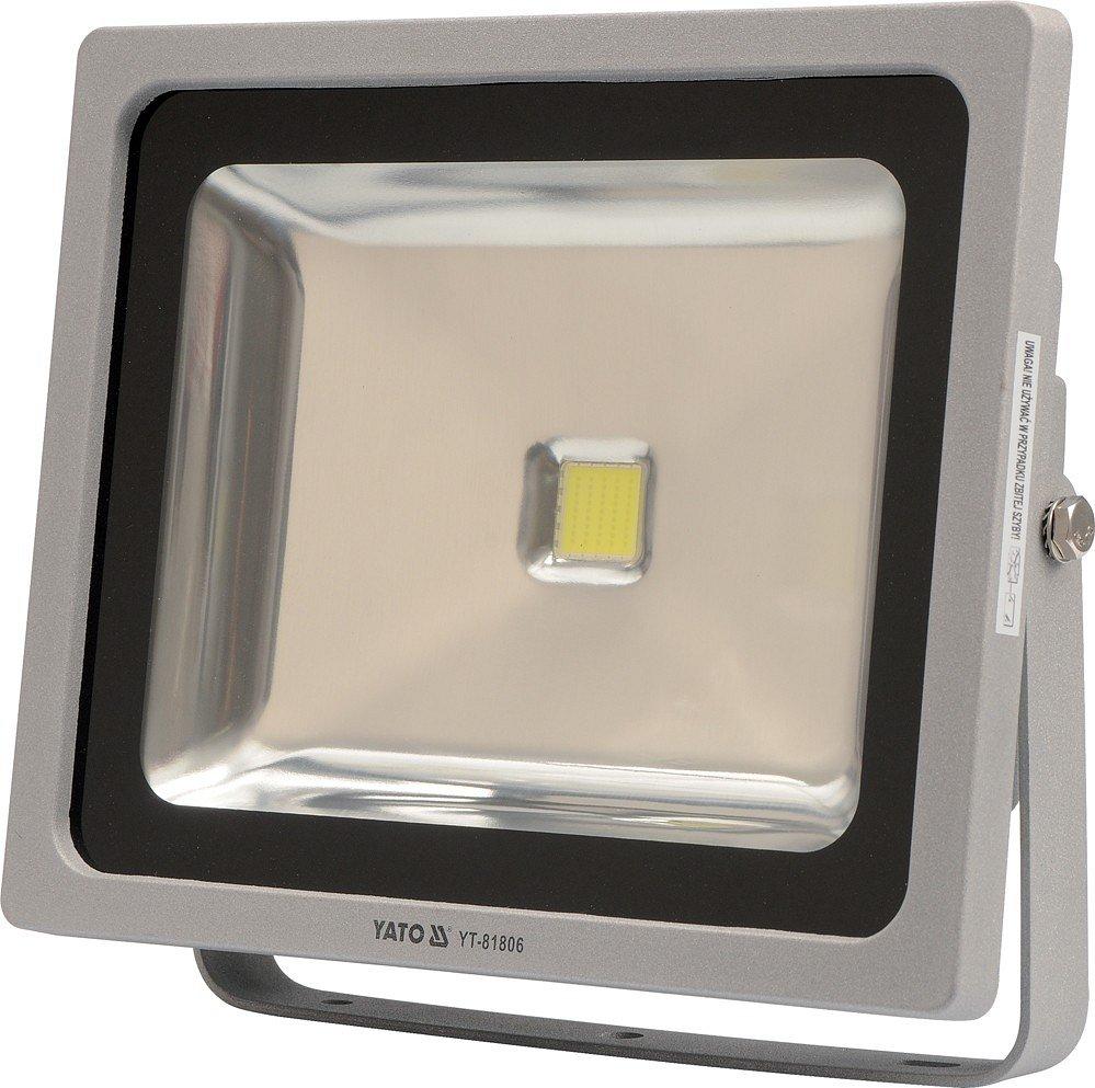Reflektor LED 50 W s konzolí bílý Yato