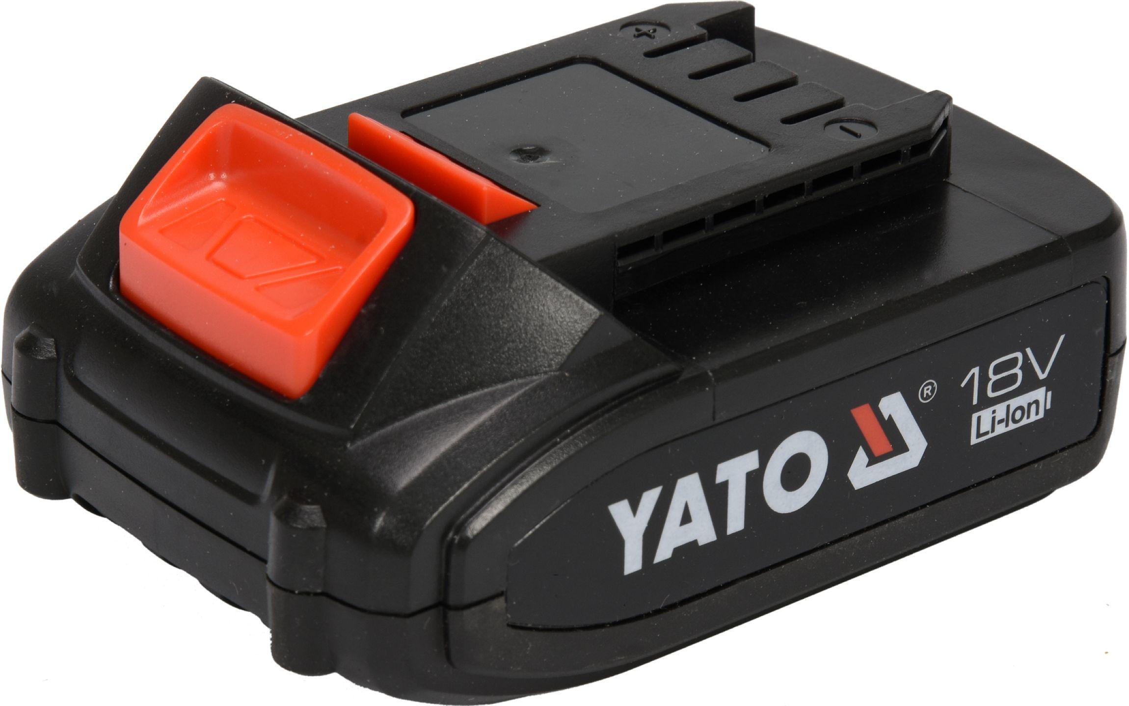 Baterie náhradní 18V Li-ion 2,0 AH (YT-82782, YT-82788,YT-82826, aku program Worcraft