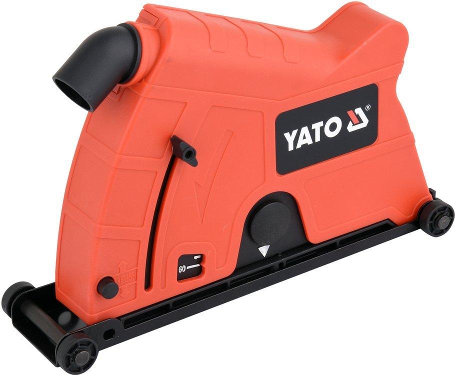 YATO Odsávací kryt na úhlovou brusku 230mm, na řezání a frézování, YT-82990